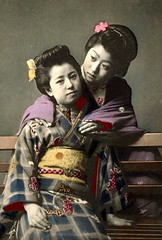 A KIMONO FRIENDSHIP in OLD JAPAN