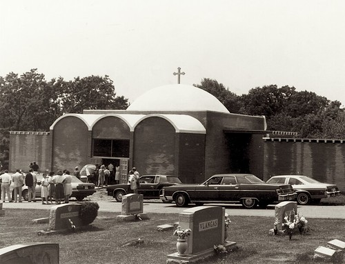 Cemetery Chapel, opened 1982