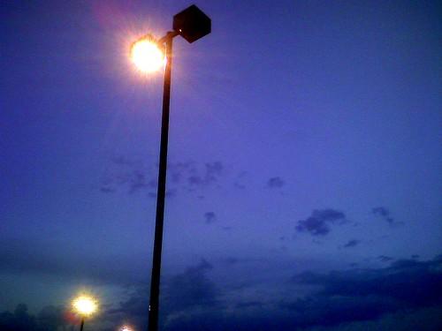 cameraphone sky parkinglot lowes gloaming arclights neougly