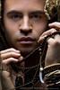 Beads and Chains (skinr) Tags: beauty closeup tooth beads hands lasvegas dancer tribal jordan curlyhair jordy malemodel tangled wwwjskinnerphotocom jasonjamesskinner