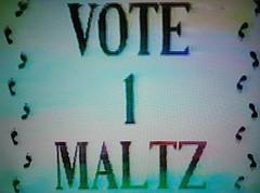 9: Maltz - Vote 1 Maltz