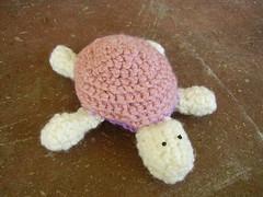 Pink Turtle Amigurumi