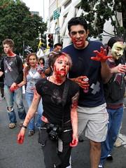 Zombies (marks_aaron) Tags: sf sanfrancisco blood zombie mob brains undead eatbrains audreypenven eatbrains08