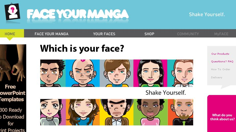 FACEYOURMANGA Home