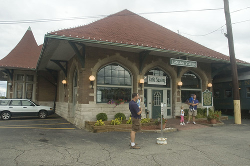 union depot (now Clara's Lansing Station Restaurant)