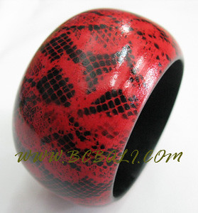 Cv batu Cantik Bali Woods Bracelets Hand Painting (11)