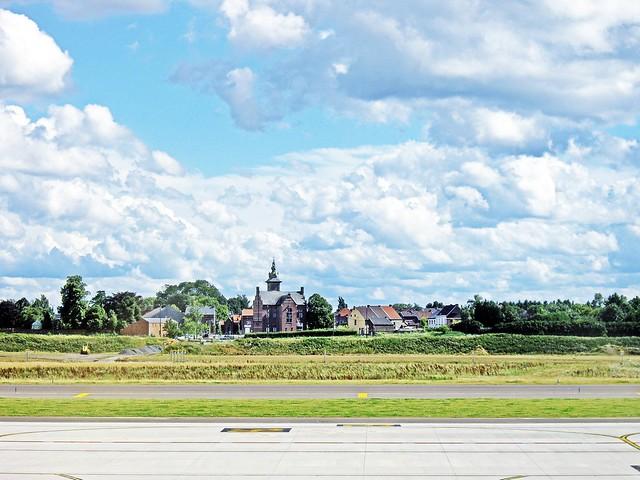 Vista dall'aeroporto Charleroi - Brussels Sud