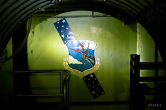 The Men Before; The Strategic Air Command (Blush Response) Tags: history abandoned clouds logo stars washington arm military silo atlas knight missile lightning insignia strategicaircommand missilesilo atlase