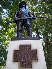 Spanish-American War Memorial (Eridony) Tags: statue memorial downtown michigan lansing warme