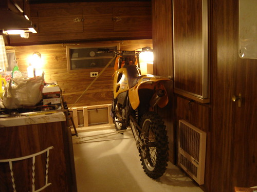 KTM in the Camper