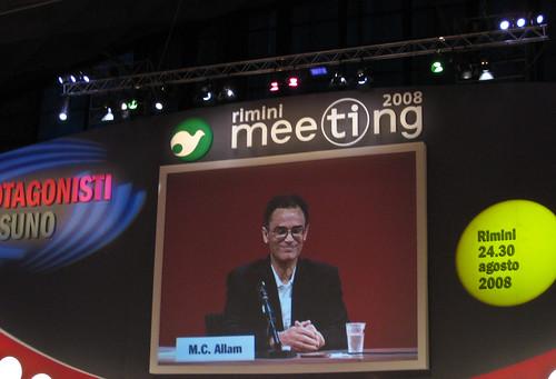 Magdi Cristiano Allam at Meeting 2008, Rimini