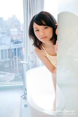 Yuchan (AehoHikaruki) Tags: life light portrait people cute girl beautiful fashion asian hotel photo nice interesting asia photos sweet album great chinese taiwan olympus lazy taipei lovely  e1 ambience     yuchan   aehohikaruki