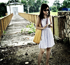 Dust (aisyahrozi) Tags: girl pretty eerie mysterious edgy