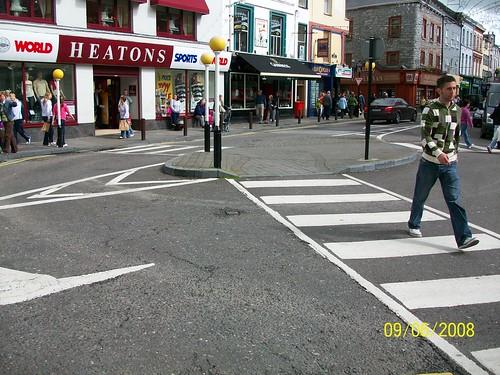 Ireland Tralee- three way crossing