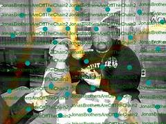 Jonas Brothers-RARE-Frankie and Big Rob-Peace Signs-(Will Trade for a Jonas Brother rare) (JonasBrothersAreOffTheChain2) Tags: mandy show new camp dog hot cute girl up rock zoe joseph paul living video mine kevin tour play little guitar tag nick dream young piano husband joe frankie ring nicholas burnin prom mtv sing taylor onstage demi swift cry denise jonas rare bit selena longer meyers gomez trl diabetes purity lovato wylmite