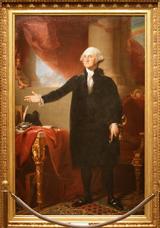 George Washington (Lansdowne portrait), First President (1789-1797), From ImagesAttr