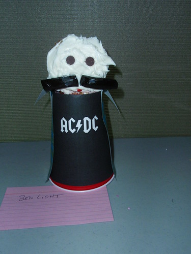the talking AC/DC cupcake