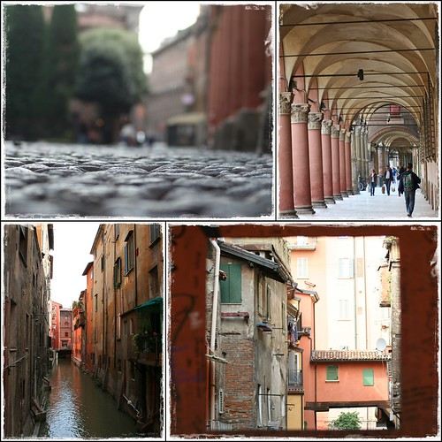 walking to bologna city