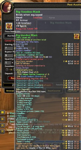 World of Warcraft Arbitrage