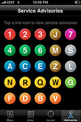 iPhone - subway application
