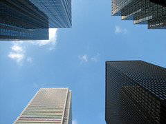 Financial District, Toronto (what's my name again?) Tags: toronto landscape office downtown cityscape skyscrapers financialdistrict highrise kingstreet banks baystreet urbantoronto banktowers