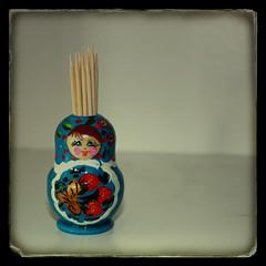 matryoshka (hopefuldoubtful) Tags: thanks doll souvenir gift toothpicks russian matryoshka toothpickholder ttv ttvlayerbyliek