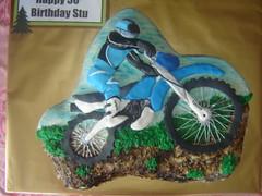 motocross cake (The Whole Cake and Caboodle ( lisa )) Tags: newzealand bike cake motorbike motorcycle dirtbike motocross whangarei buttercream caboodle fondantaccents thewholecakeandcaboodle