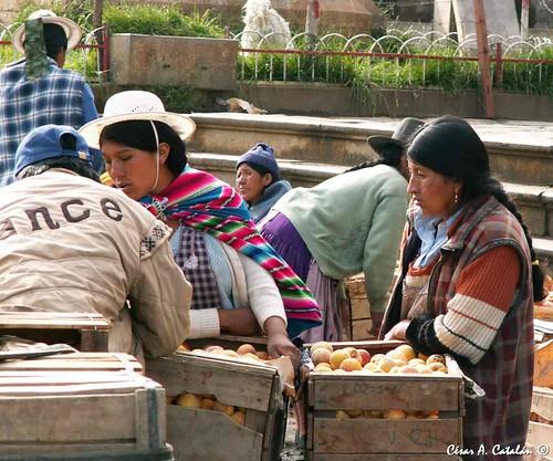 Gente de Potos�. Bolivia.