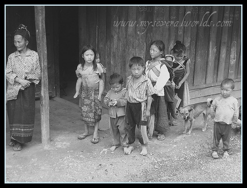 Mountain Hill Tribe of Northern Laos