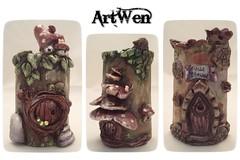 Tejas pequeas (ArtWen) Tags: fantasy hadas teja tegola