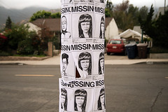 (James Chong) Tags: lost missing posters canoneosrebelxti