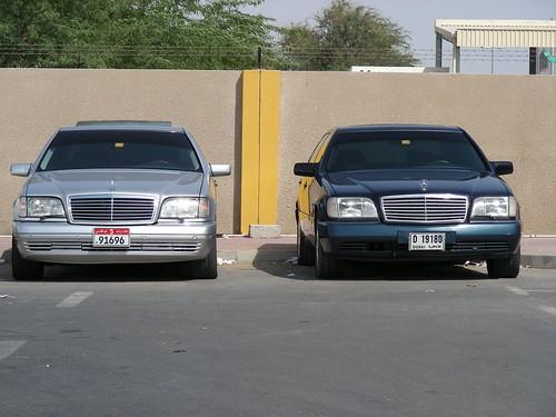 Mercedes Benz S500. Mercedes-Benz W140 (96 black