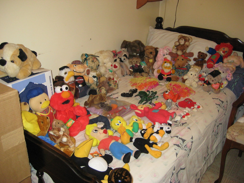 Assortment of Stuffed Toys