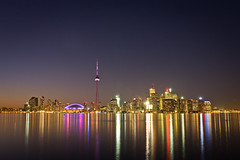 Toronto at Night by Benson Kua
