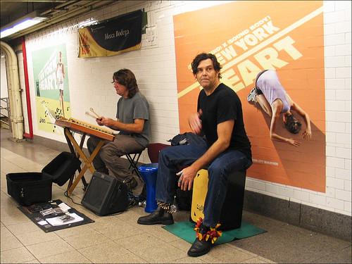 Street Musicians, Union Square