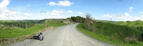 Limestone geography near Pukemiro, Waikato, New Zealand
