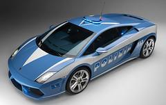 Polizia Lamborghini Gallardo LP560 1