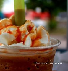 MMMmmmmmmmmm (pieceofheaven) Tags: brown coffee yummy cafe drink straw whippedcream caramel icecream liquid aplusphoto overtheexcellence colourartaward thechallengefactory colorsinourworld