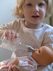 Feeding Anna 4