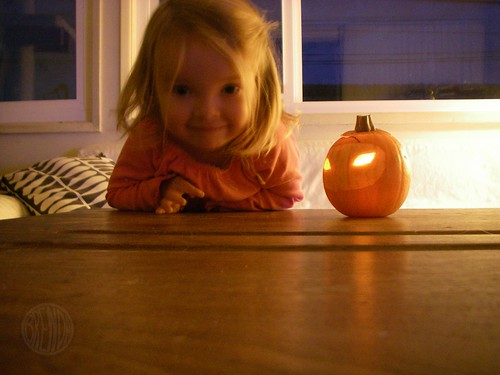 Bug and her Eva pumpkin