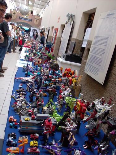 Ticobot 2008 - Parte de la Exhibición de figuras