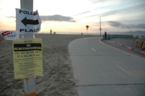 Voting 2008 in Venice Beach