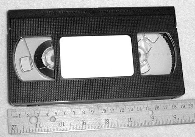 VHS_cassette_with_ruler