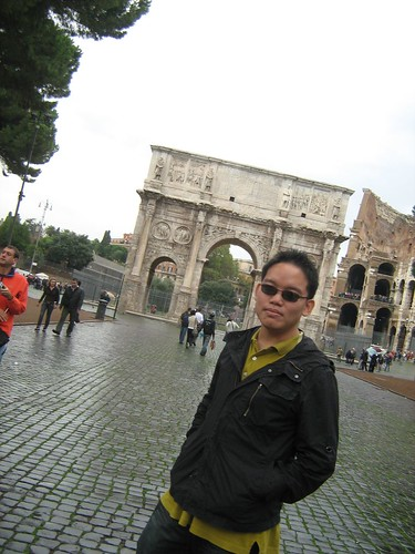 In front of the Colosseum 2