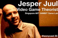 theorycast.50 :: Jesper Juul - Video Game Theorist (inju) Tags: buffalo media culture theory science videogames gaming ub academic jesperjuul ludology casualrevolution