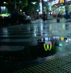 Reflections II (stevetoronto) Tags: 6x6 film rolleiflex reflections fuji south korea seoul pro bundang 800z 28gx