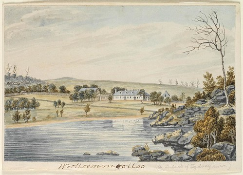 East View of Wooloomooloo near Sydney