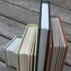 Four handbound journals (MyHandboundBooks) Tags: leather journal headbands bookbinding hardcover handbound myhandboundbooks