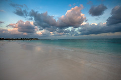 Akumal Bay (tappit_01) Tags: ocean beach water clouds mexico sand carribean graduated akumal