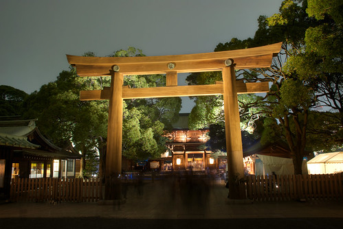 Meiji Jingu Lightened 13